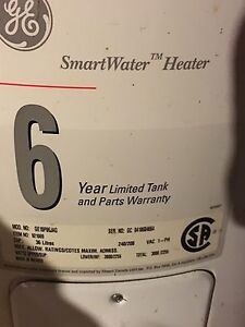 GE 36 litres electric water heater