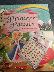 Princess book and nail stickers