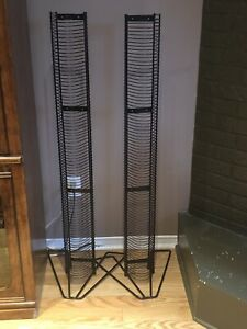 2 large CD racks