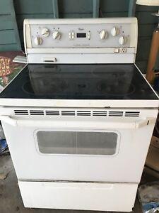 Washer, dryer and range