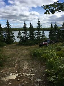 Camp & leased lot for sale on island lake