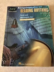 Hal Leonard - Encyclopedia of Reading Rhythyms