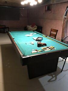 Billiards Pool Table