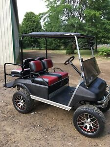 Custom gas golf car