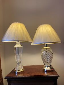 2 crystal table lights for sale $100 OBO