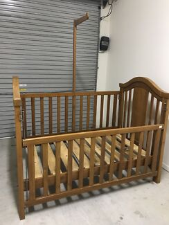 Baby cot single bed