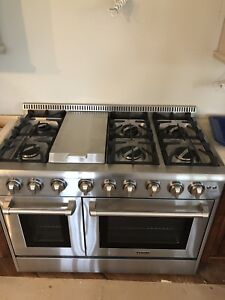 Natural gas stove installations available