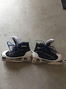 Vaughn GX1 goalie skates