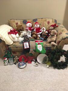 Christmas Decorations & Snowmen