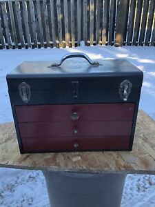 3-Drawer Flip Top Tool Chest