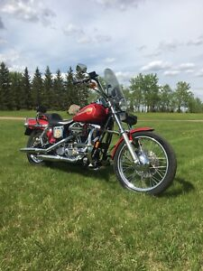 For Trade: Beautiful 1994 Haley - Davidson Dyna Wide Glide FXDWG