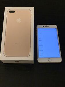 Mint Condition Unlocked iPhone 7 Plus 256gb
