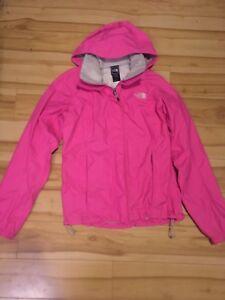 Women's north face rain jacket size small
