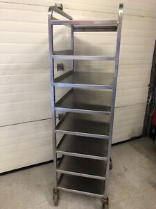 3 heavy duty stainless steel baker racks
