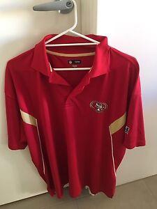 San Francisco 49ers Polo Jersey NFL Bertram Kwinana Area Preview