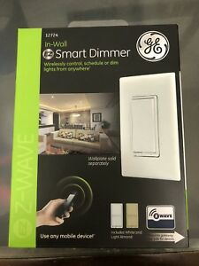 GE smart switch dimmer Z-Wave