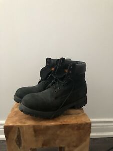 BLack and Tan Timberland boots  Size 8.5 $100 each