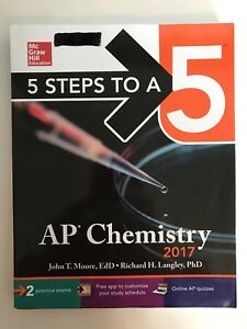 High school AP textbooks: English, chemistry, biology