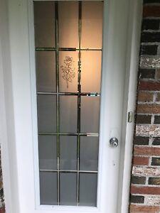 vitrail de porte d'entrée