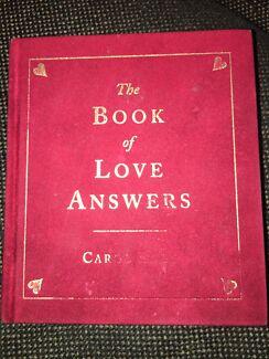 Book of love answers carol bolt