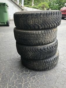 4 Winter Tires: 175/70/14 with RIMS. $100