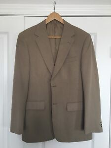 Men's tan suit