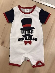 Super cute Baby Boy onesie (BNWOT)