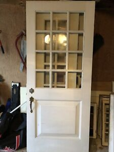 Antique Wooden Doors and Window Shashes