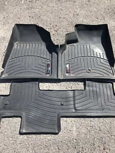 Tapis weather tech pour GMC Acadia