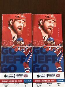 Billets Canadiens de Montréal vs Sharks San Jose