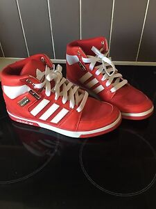 Men's US 8 adidas red shoes Brassall Ipswich City Preview