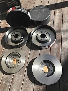 Brand new Brembo brakes and rotors for BMW