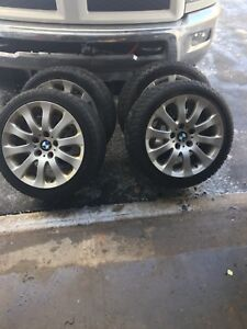 Bmw rims and winters 17 inch