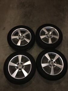 Mazda 3 summer tires with rims