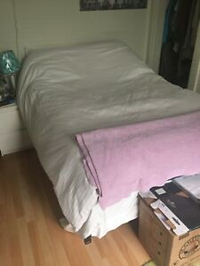 Double mattress + mattress + duvet