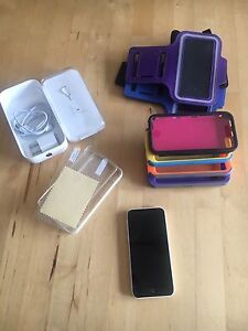 iPhone 5c and accessories