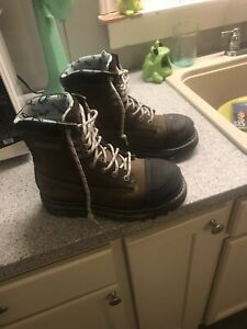 Steel toe Dakota boots woman's 7 1/2