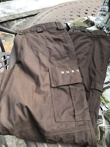 Snow pants. Woman's  and men's and jacket