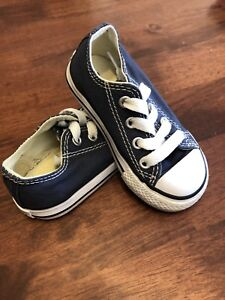 buy online c7b8f 0f4e0 Converse Chuck Taylor All Star Toddler Low Top Navy - size 5