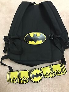 Batman Backpack w/ belt