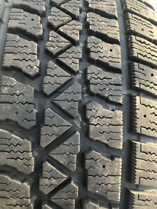 2 tires micheline x ice used 205/55r16