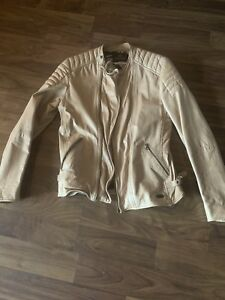 Scotch and soda leather motorcycle jacket