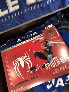 Ps4 Pro Spider-man edition