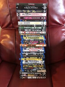 WWE blu-ray and dvd Collection.