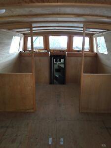 40' wood boat , free