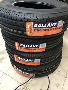 2 New Trailer Tires 205/75/14 (6ply)