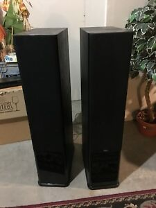 House energy C-series tower speakers with sub