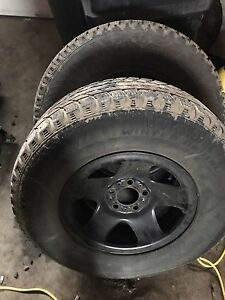 Two sets of tires (15 inch)