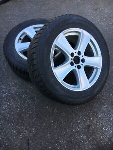BMW X5 e70 mags with winter tires 255/55/R18