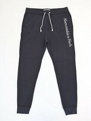 Abercrombie & Fitch Men Fleece Icon Joggers Sweatpants Size Large new with tag